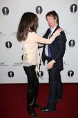 Lara Flynn Boyle, Dana Carvey at the Academy Of Motion Picture Arts And Sciences Hosts A