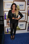 Natalie Nunn at the House Of Moscato Presented by Skyy Infusions Moscato Grape, Greystone Manor, Los