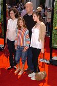 WESTWOOD - APRIL 30: Bruce Willis and his daughters at the Los Angeles Premiere of