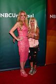 Lulu Johnson, Betsey Johnson at the 2013 NBC Universal Summer Press Day , Langham Huntington Hotel,