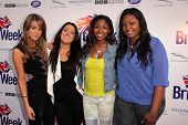 Kree Harrison, Angie Miller, Amber Holcomb and Candice Glover at