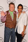 Daphne Wayans, Ryan O'Neal at the SHARE 60th Annual