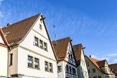 picture of gable-roof  - Gable roof of traditional German half - JPG