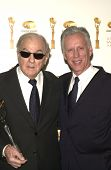 Karl Malden and James Woods at the 6TH ANNUAL GOLDEN SATELLITE AWARDS:  Thrown by the International
