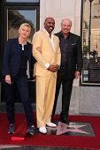 Ellen Degeneres, Steve Harvey, Phil McGraw at the Steve Harvey Star on the Hollywood Walk of Fame, Hollywood, CA 05-13-13