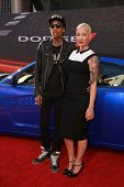 Wiz Khalifa and Amber Rose at the