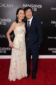Ken Jeong and wife at