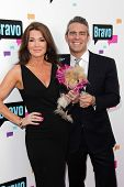 Andy Cohen and Lisa Vanderpump at the Bravo Media's 2013 For Your Consideration Emmy Event, Leonard