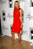 BEVERLY HILLS - APRIL 20: Maria Sharapova at the inaugural The Billies presented by The Women's Spor