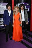 Reid Perry, Kimberly Perry and Neil Perry at the 2013 CMT Music Awards, Bridgestone Arena, Nashville