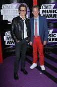 Kevin Bacon and Michael Bacon at the 2013 CMT Music Awards, Bridgestone Arena, Nashville, TN 06-05-13