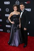 Eugenio Derbez and Alessandra Rosaldo at the AFI Life Achievement Award