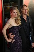 Kristin Bauer van Straten and husband Abri van Strate at the