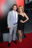 Sam Trammell and Missy Yager at the