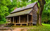 stock photo of cade  - The Henry Whitehead Cabin at Cade - JPG