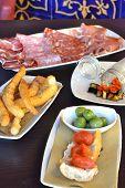 Assorted Italian Antipasti Selection