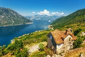 The old house with view on the sea and mountains. Montenegro