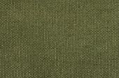 macro shot of an olive green cotton texture