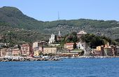 SANTA MARGHERITA, ITALY - MAY 04,2014: Santa Margherita Ligure is a comune (municipality) in the province of Genoa in the Italian region Liguria, located about 35 kilometres (22 mi) southeast of Genoa