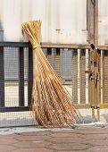 Traditional Attap Broom