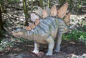 Realistic Model Of Dinosaur Stegosaurus