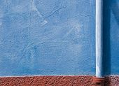 The colors of the walls of Burano
