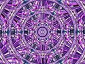 Creative Background. Kaleidoscope.  A Wonderful Harmony Of Colors. A-0073.