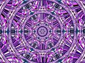 Creative Background. Kaleidoscope.  A Wonderful Harmony Of Colors. A-0073.