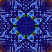 Creative Background. Kaleidoscope.  A Wonderful Harmony Of Colors. A-0078.