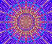 Creative Background. Kaleidoscope.  A Wonderful Harmony Of Colors. A-0080.