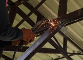 Electric Welding Connecting Construction Metal