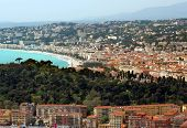 City Of Nice View Of District Villefranche-sur-mer