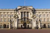 Buckingham Palace In The Morning