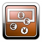 Icon, Button, Pictogram Currency Exchange