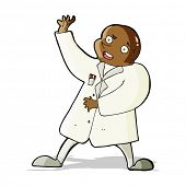 pic of mad scientist  - cartoon mad scientist - JPG