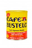 HAYWARD, CA - July 17, 2014: 10 oz can of Cafe Bustelo espresso ground coffee