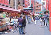 Nankin China town in Kobe Japan