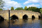 Medieval bridge, Bakewell.