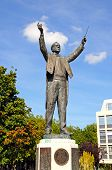 Gustav Holst statue, Cheltenham.