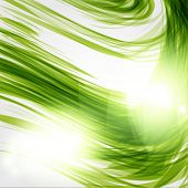 Abstract green background. Ecological concept in green colors