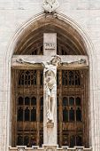 pic of inri  - Facade of St Peter - JPG