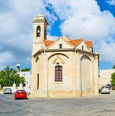 picture of neo  - The church of Saint Minas is located in the centre of the village of Neo Chorio Cyprus - JPG