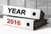 White Office Binders Year 2016