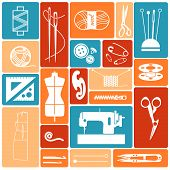 icons sewing stuff