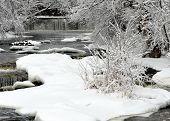 Snowy Creek in Wisconsin