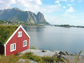 Red House In Lofoten