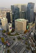 Cityscape in Seoul, Korea