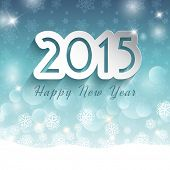 Decorative background for the Happy New Year