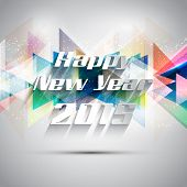 Decorative background for the New Year