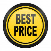 best price icon, yellow logo,
